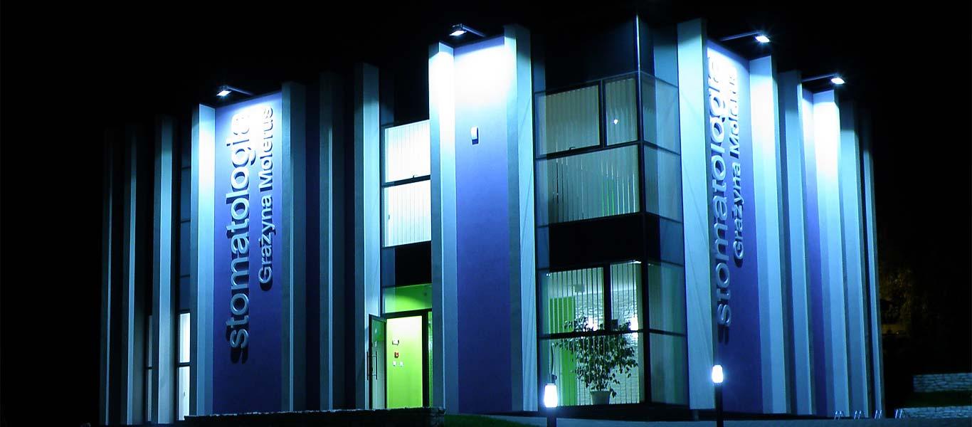 Budynek gabinetu stomatologicznego w Bielsku-Białej